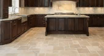 Tile Flooring For Kitchen Kitchen Floor Tile Designs For A Warm Kitchen To Traba Homes