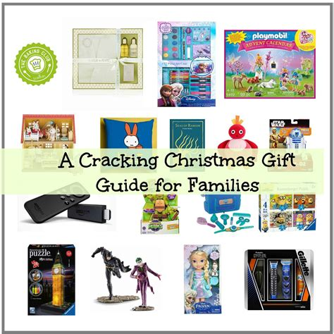 a cracking christmas gift guide for families days in bed