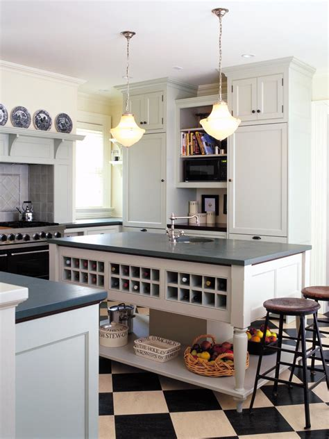 Kitchen Island Storage Ideas Kitchen Storage Ideas Kitchen Ideas Design With Cabinets Islands Backsplashes Hgtv