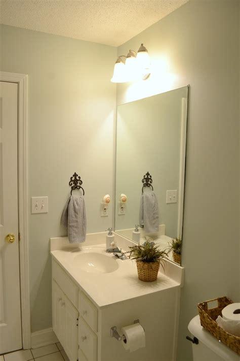 guest bathroom progress  paint roomchallenge