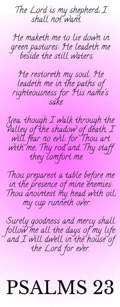 yea though i walk through the valley tattoo the lord is my shepherd i shall not want he maketh me to