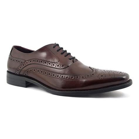 burgundy oxford shoes shop burgundy oxford brogue shoes gucinari