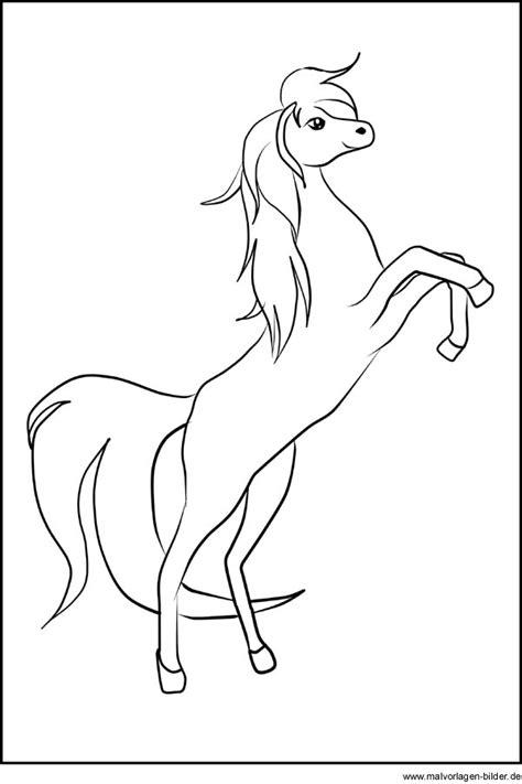 musterbäder bilder pferd vorlage zum ausdrucken