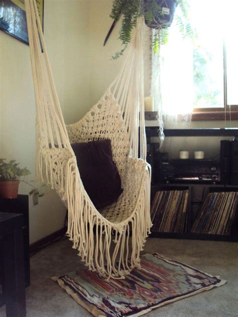 swinging chair for bedroom indoor hammock swing chair ideas