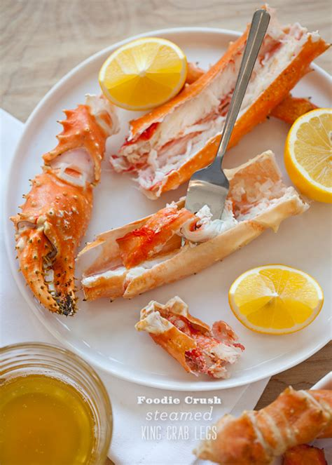 v駻anda cuisine the simplest alaskan king crab legs and a s