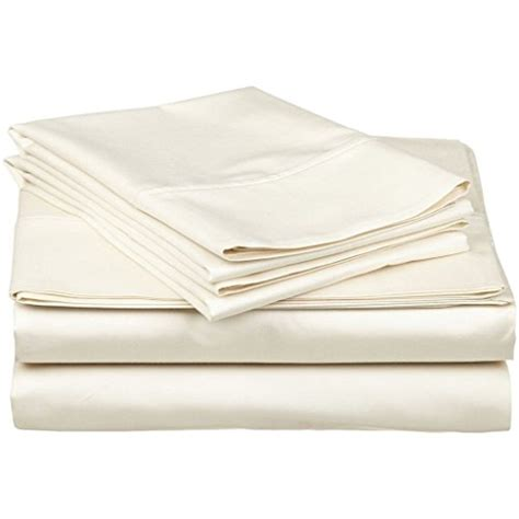 real cotton sheets organic cotton sheet set 600 thread count 100 cotton 4pc bed sheet set ivory