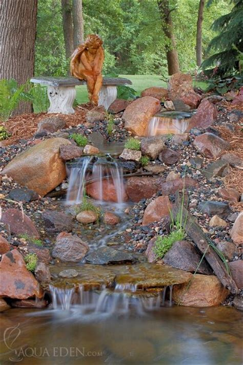 waterfall for backyard pond pictures waterfalls backyard waterfall6