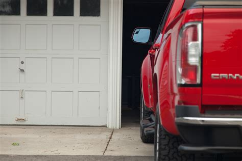 how big is a garage the 2015 gmc canyon sometimes it s good to be small the