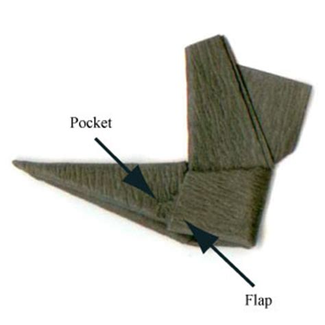 Origami Boot - how to make a traditional origami boot page 9