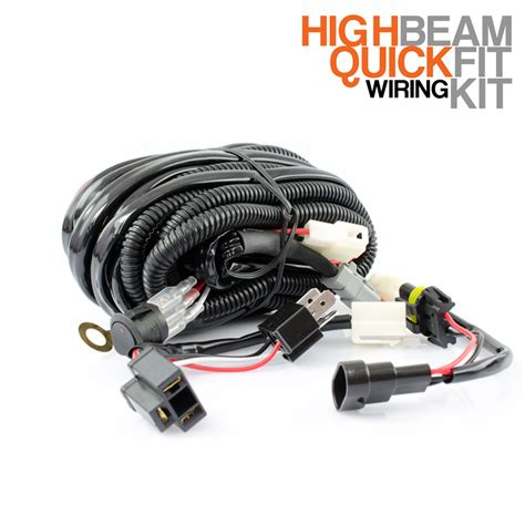 stedi fit high beam driving light wiring