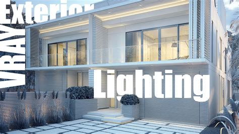 Using Sketchup For Home Design by Vray Exterior Lighting Amp Rendering Video Tutorial