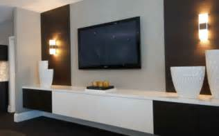 nice Feature Wall Tv Console Singapore #7: Minimalist-TV-Feature-Wall-with-Lighting.jpg