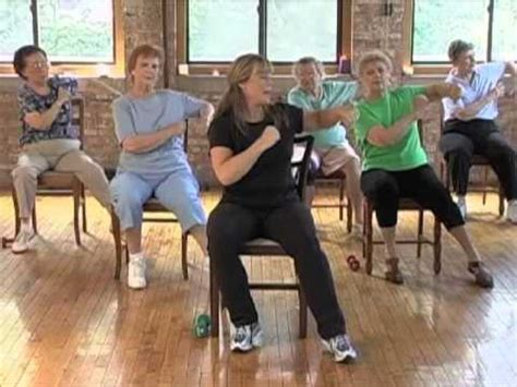 armchair aerobics for elderly stronger seniors strength senior exercise aerobic video
