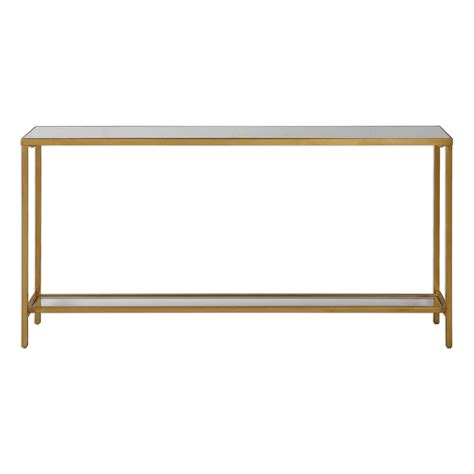 gold console table uttermost hayley gold console table on sale