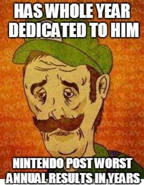 bad luck color for new year bad luck luigi weknowmemes
