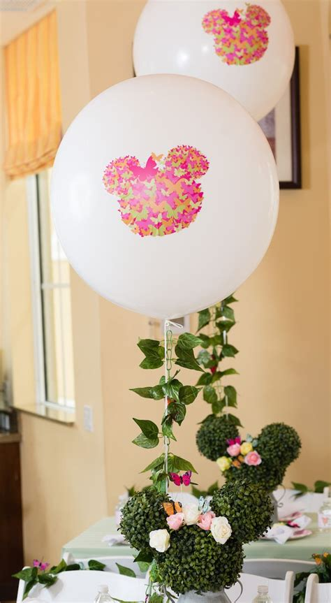 minnie mouse backyard party custom butterfly minnie mouse balloon from a minnie mouse