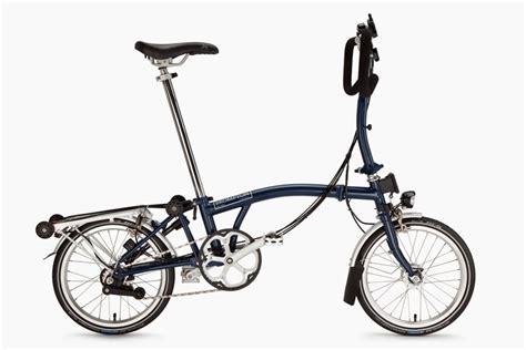 Brompton S6rx Tempest Blue Titanium Brompton Walton Cycles