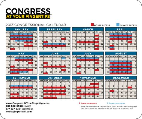 Congressional Calendar Mouse Pad With Congressional Schedule Capitol Advantage