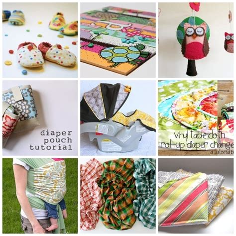 Handmade Things For Babies - diy baby gifts sewing projects