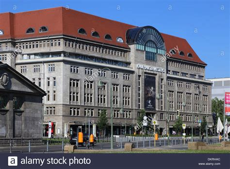 berlin shopping kadewe berlin kadewe kaufhaus des westens stock photo royalty