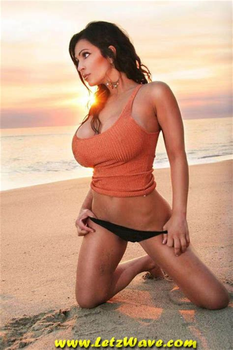 denise milani bathroom hollywood news hot denise milani on beach