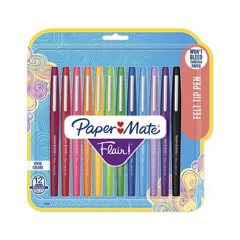 paper mate flair felt tip pens medium point mm