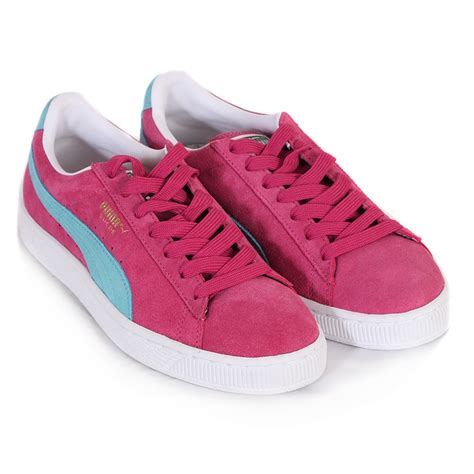 Nike Freyza Pink suede classics pink blue shoes