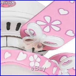 pink and white ceiling fan 44 white flower finish ceiling fan swirled marble