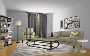 Living Rooms Painted Gray Gray Paint Colors Neiltortorella