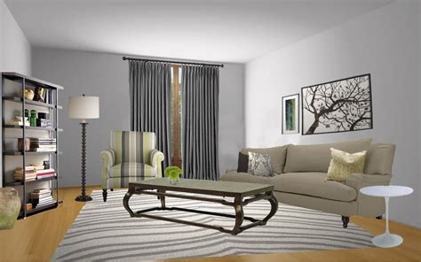 painting living room grey gray paint colors neiltortorella