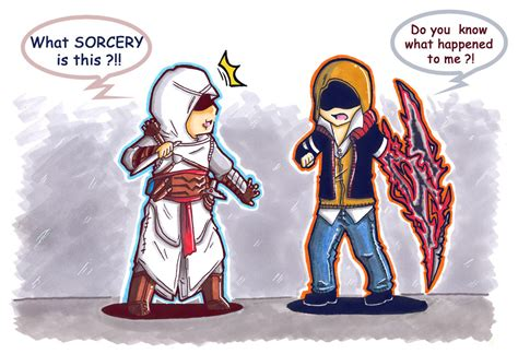 tattoo assassins vs prototype prototype images prototype assasin s creed crossover art