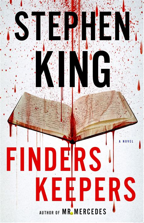 the king a novel books book review king s finders keepers on a trial of misery