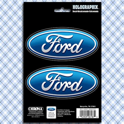 Ford Sticker by Ford Oval Logo Car Truck Window Decals Stickers