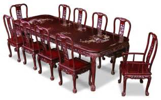 grape motif dining table  rosewood queen ann grape motif dining table with  chairs asian