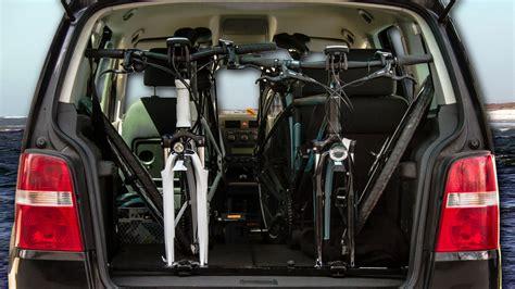 Fahrradhalterung Auto by Bikeinside Innenraum Fahrradtr 228 Ger Fahrradtransport Im