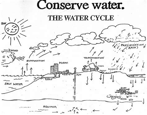water cycle coloring page pdf water cycle coloring page coloring pages