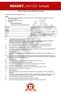 Short Term Tenancy Agreement Template Free tenancy agreement template shorthold tenancy agreement uk