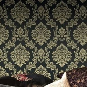black damask wallpaper home decor black damask wallpaper roll dark papel de parede for