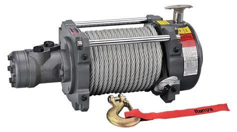 Winch Runva Ewg 10 000 runva hwn15000yd 15 000lb industrial winch 26m 12mm steel
