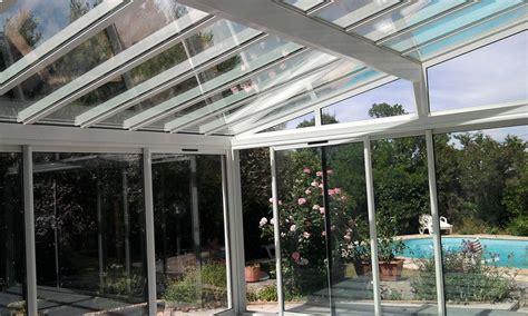 aluminium veranda v 233 randa en aluminium enti 232 rement vitr 233 e grande baie