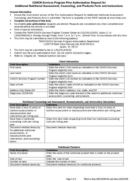 counselling assessment form template cshcn services program 2010 gt cshcn services program prior
