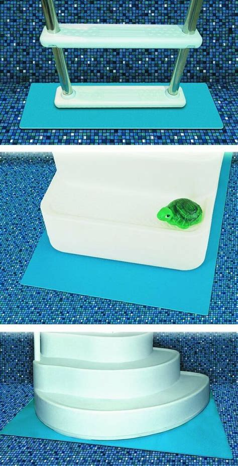 Above Ground Pool Ladder Mat - tools 87956 protective pool ladder mat and pool step pad