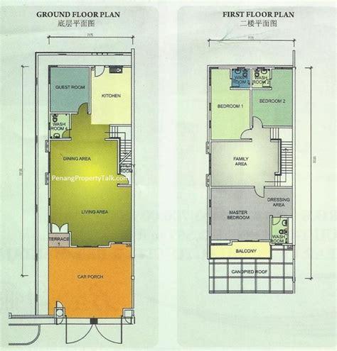 bayu sentul floor plan bayu villas desa titi panjang penang property talk