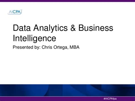 Mba Business Intelligence by Data Analytics And Business Intelligence