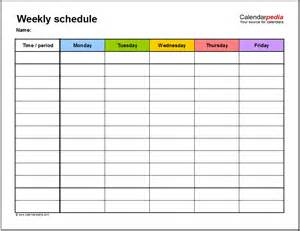work schedule template 15 free employee work schedule templates schedule templates