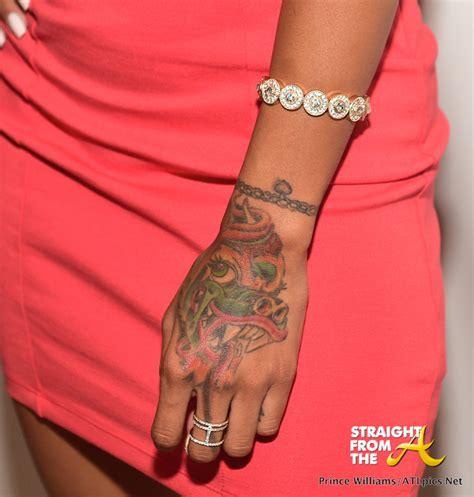 karrueche tattoo karrueche straightfromthea from