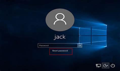 resetting windows login password how to reset windows 10 administrator password if forgot