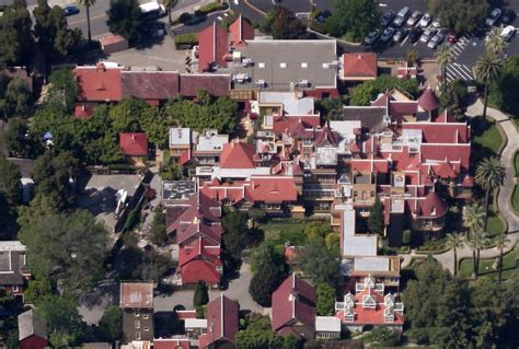 houses to buy winchester winchester house aerial view winchester mystery house pinterest winchester