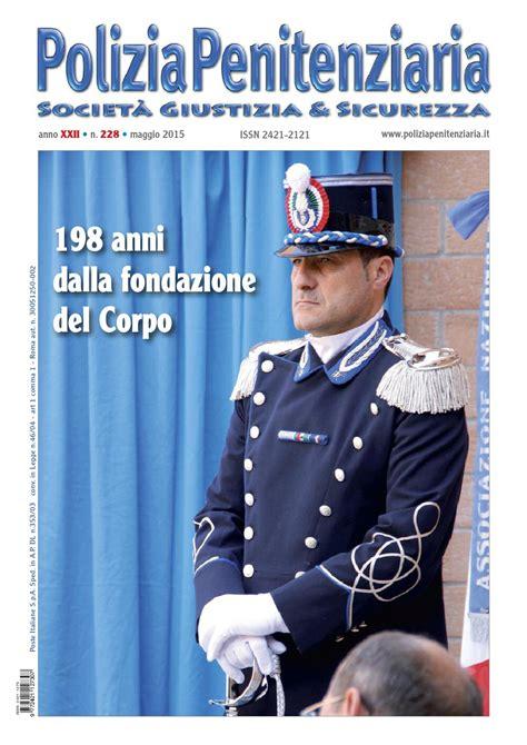 ufficio matricola polizia penitenziaria maggio 2015 n 228 by polizia