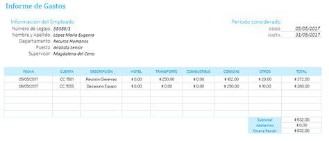 planilla de empleados contabilidad general planilla de excel para informe de gastos de empleados